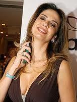 EM 2007 A DIVA LUCIANA GIMENEZ LANÇA SUA LINHA DE PERFUMES